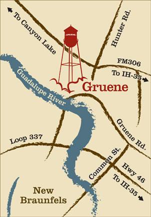 Gruene Map